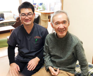 63歳男性 脳出血 右片麻痺 右上肢痛