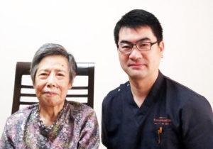 79歳女性 パーキンソン病 右側腰痛