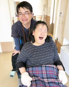 58歳女性 脳性麻痺 四肢麻痺