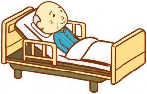 在宅高齢者に多く利用されている介護ベッド